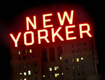 New Yorker Acrylite Sign